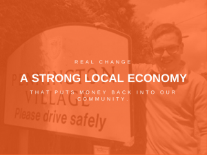 A strong local economy